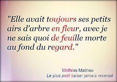 """Mathias Malzieu """"Le plus petit baiser jamais recensé"""""""