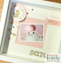 Auf Pinterest und Facebook sehe ich immer mal wieder so schöne Ribba-Rahmen für Babys vorbeikommen. Daran hab ich mich jetzt auch mal versucht.