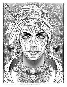 Magical Beauties: A Captivating Coloring Book Printable Adult Coloring Pages, Coloring Book Pages, Coloring Sheets, Amazing Drawings, Colorful Drawings, Colorful Pictures, Zentangle, Beauty Book, Line Art