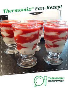 """Erdbeer-""""von-Schleck""""-Dessert von Sille TM5. Ein Thermomix ® Rezept aus der Kategorie Desserts auf www.rezeptwelt.de, der Thermomix ® Community."""