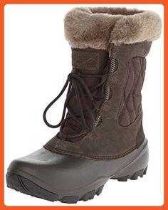 Columbia Women's Sierra Summette III NM Winter Boot, Cordovan/Tusk, 8 M US - Outdoor shoes for women (*Amazon Partner-Link)