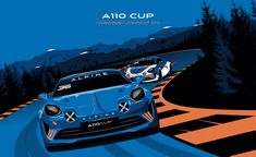 Alpine is back ! Megane Rs, Automobile, Car Posters, Automotive Art, Alps, Cars And Motorcycles, Techno, Motors, Racing