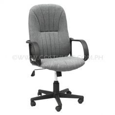 Ergodynamic™ High Back Office Chair  Product Code: HBC-147 Price: List Price:	P5 799.00 Sale Price:	P3 199.00 Product Code: HBC-147 Description: Ergodynamic™ High Back Office Chair, Fabric Upholstery, 300mm Nylon Base & Nylon Casters, Tilt Lock Mechanism, Swivel Function, Pneumatic Height Adjustment Product Measurement: 60L x 48W x 101-111Hcm Chair Capacity: 80kgs. Classification: MEDIUM DUTY Usage: OFFICE USE