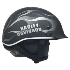 If riding is your passion, this awesome motorcycle half helmet is a must ! Half Helmets, Bicycle Helmet, Harley Davidson, Anniversary, Cycling Helmet