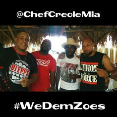 @DjEpps @Grimass @Chelo_Chelo @MECCAakaGRIMO Block Party Birthday Bash @ChefCreoleMia #WeDemZoes @TeamEpps #TeamEpps #LunionFaitLaForce Happy Earth Strong Fam  @1035thebeat  #DjEpps