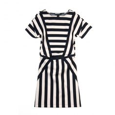 MARC BY MARC JACOBS black & white graphic dress