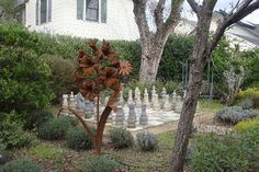 MacArthur Place - Sonoma's Historic Inn & Spa: Chess set in the garden
