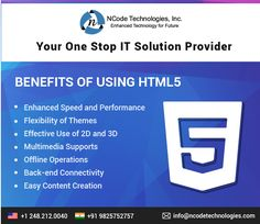 Do you want a #professional & #modern website for your business? Check #benefit of #HTML 5 #Website #Development.