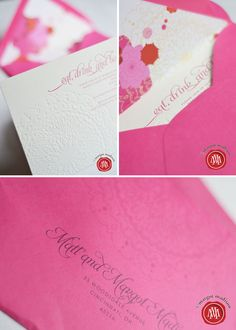 Eat, Drink, and Be 40! hot pink birthday party invites#Repin By:Pinterest++ for iPad#