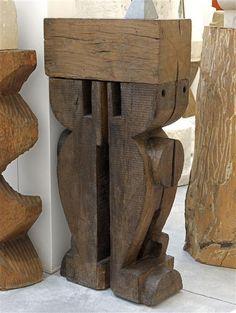 Constantin Brancusi – Cariatide-chat, 1916/23 | Centre Pompidou
