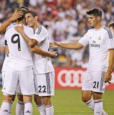 Celebrating A Goal Trust Real Madrid