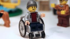 TODAY: Health & Wellness (1/28/2016) - Lego Releases Minifigure That Uses A Wheelchair.