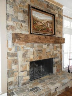 Exceptionnel Pictures Of Indoor Stone Fireplaces | Indoor Stone Fireplace Dallas |  Flickr   Photo Sharing!