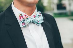 Going to a spring or summer wedding? My Tie Shop offers a range of floral skinny ties that offer a whimsical touch to traditional suits.