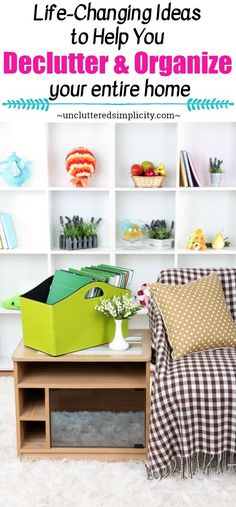 declutter tips | organize your home | how to declutter and organize | declutter paper | declutter clothes | organize kitchen | organize toys | free calendar | printables to help you stay organized | decluttering methods