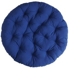 Our cool cobalt cushion will reawaken your appreciation of all things outdoors and make your Cabana Papa(san) proud, indoors or out, with its UV-protected and mildew-resistant fabric. So go ahead. Give your Papa a quick trip to Coolsville.