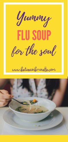 Delicious Chicken soup to fight the flu! I whip this up whenever I'm feeling the cough and cold coming on and my kiddos love it! Chicken Soup For Flu, Instapot Chicken Soup, Healthy Chicken Soup, Homemade Chicken Soup, Veg Soup, Healthy Soup Recipes, Real Food Recipes, Drink Recipes, Free Recipes