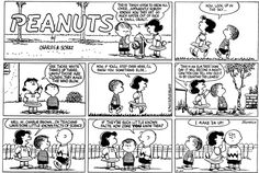 "The lyrics for the song ""Little Known Facts"" from ""You're a Good Man Charlie Brown""  were basically ripped off this strip."