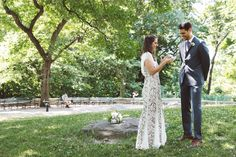 Christina & Cliff socially distanced wedding @ Central Park