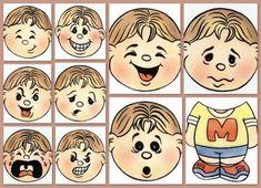 emociones-ingles Preschool Games, Montessori Activities, Activities For Kids, Emotions Game, Feelings And Emotions, Kindergarten Portfolio, Emotional Development, Speech Language Therapy, Bible Lessons
