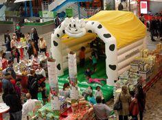 Hüpfburg Lachende Kuh