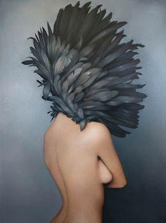 Girls and Birds – Les peintures d'Amy Judd