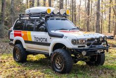 You Could Own This Fully-Kitted Overlanding-Ready 1991 Toyota Land Cruiser Land Cruiser 80, Toyota Land Cruiser, Honda Dominator, Ferrari Spider, Off Road Camper, Toyota Trucks, Cafe Style, Roll Cage, Royal Enfield
