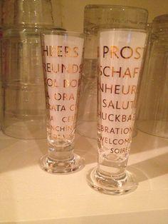 Ritzenhoff shot glasses