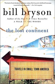 Read in 2010 | The Lost Continent by Bill Bryson