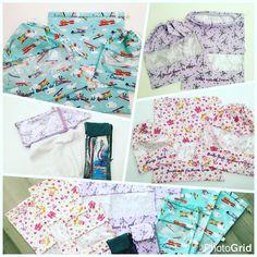 Encomenda já seguindo caminho: kits com saquinhos para roupa suja, roupa limpa e roupa de banho + estojinhos porta kit higiene bucal com toalhinha! #sobencomenda #personalizados #kits #meninos #meninas #presentes #bordados #comnome #lucas #marialuiza #larissa #lilas #azul #FashionArts #boatarde #artesanatosdamoda #compredopequeno #compredequemfaz #elo7 #elo7br #foradesérie