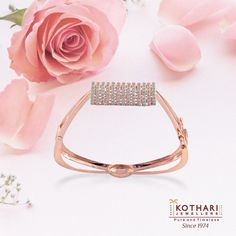 Fashion changes, style transcends time.  #Diamond #RoseGold #Bracelet #Beautiful #PureAndTimeless.