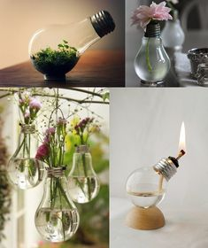 #lamps. I have some old light bulbs lying around...but not for long #diy #recycle