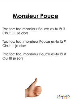 chansons/comptines Page 4 MC en maternelle French Poems, French For Beginners, Activities For 2 Year Olds, Learn French, Infant Activities, Affirmations, Homeschool, Songs, Teaching Poetry