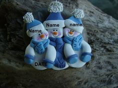 I love polymer clay ornaments!!