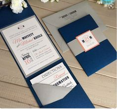 Intrigued by the pocket idea. Ben loves navy and gray together. I like it too, but with navy accents instead of featuring navy. I find the major navy and gray a little masculine-- even though navy bridesmaids dresses + gray suits at the wedding, haha.