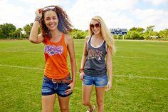 University of Florida Gators and Florida State Seminoles  FSU | UF College Football Tank Tops  #BeallsFlorida #ForeverFlorida