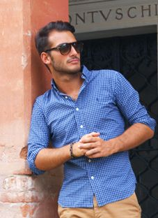 Blue Ralph Lauren shirt