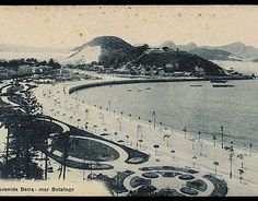 Praia de Botafogo , Av Beira Mar 1910