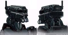 "Elysium Robots   The ""Elysium"" story part 3: Designing robots"