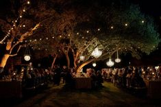 Usage of lanterns or mason jars w/candles creates a firefly feel for a yard or party. It ends up looking like an enchanted forest with a magical feel…