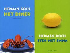 Tien boeken van Herman Koch op een rijtje!