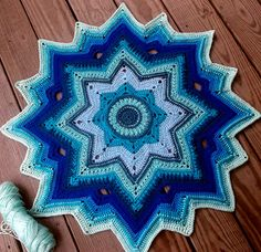 Mini Galaxy of Change free Crochet Pattern