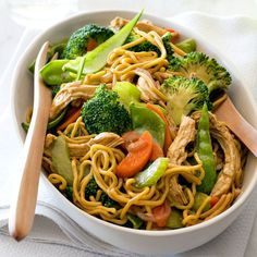 A healthier WW recipe for Chicken Singapore noodles ready in just Get the SmartPoints plus browse our other delicious recipes today! Healthy Mummy Recipes, Healthy Snacks For Kids, Ww Recipes, Asian Recipes, Chicken Recipes, Dinner Recipes, Cooking Recipes, Snacks Kids, Healthy Chicken