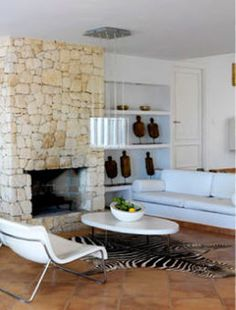 Reader request - stone fireplace - desire to inspire - desiretoinspire.net