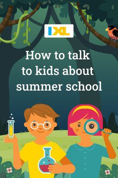 Get kids on board with summer school with these thoughtful and encouraging talking points. Meet Friends, Meeting New Friends, Summer School, Summer Fun, Weekend Camping Trip, Talking Points, A Classroom, Confidence Building, Feeling Overwhelmed