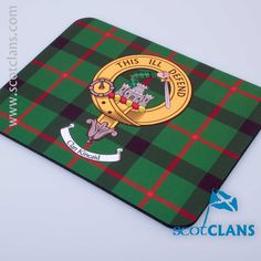 Kincaid Clan Crest Mouse Mat . Free Worldwide Shipping Available