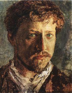 Valentin Serov self portrait. - 1880′s