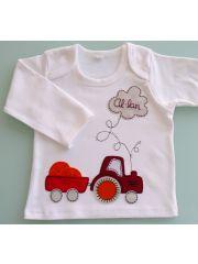 Camiseta Niño - Niña Tengo un Tractor de Punt a Punt