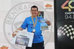 Enhorabuena!!! al 3er. clasificado en el IX Gran Premio de Karting de @Los40 #Castellón @benikarts_es #DigitalWap 🏎️💨🍾🏆🥉  ¡Que disfrutes mucho de tu tablet! @LenovoES @MotorolaESP 📲 Karting, Digital, Pageants, Prize Draw