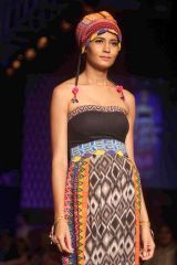 Winter/Festive 2013. Global Desi with LIVA at the Lakme Fashion Week 2013